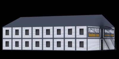Модульные здания, офисы