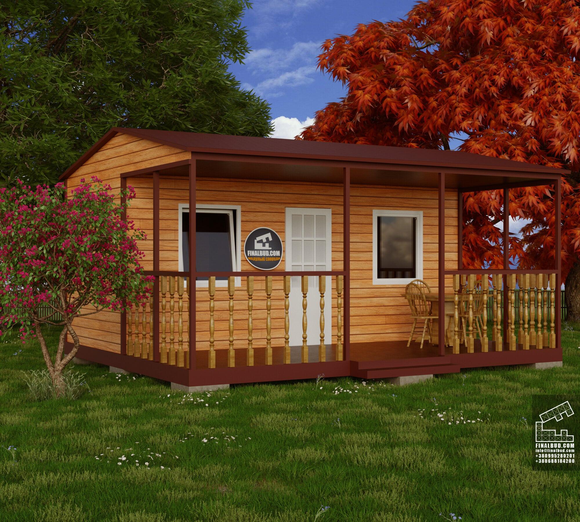 Модульний дачний будинок №3