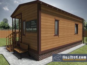 Дачный домик 6х7.5м фото