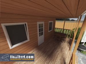 Дачный домик 6х5м фото