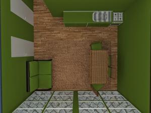 Дачный домик 6х7.5м фото внутри