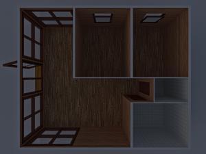 Дачный домик 6х5м, 6х8м фото