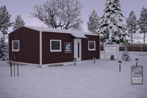 Модульный дом 5х6 фото