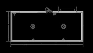 Торговый павильон схема