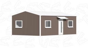 Модульный дом 6х5м